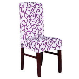 Image Is Loading Stretch Short Removable Dining Room Chair Cover Slipcovers
