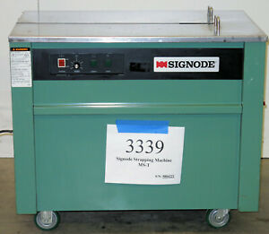 Signode-Model-MS-T-Semi-Automatic-Strapping-Machine-Inventory-3339
