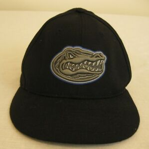 5ec8d5f2 Florida Gators Nike 643 Baseball Cap Adult Size 7 Black 100% Wool ...