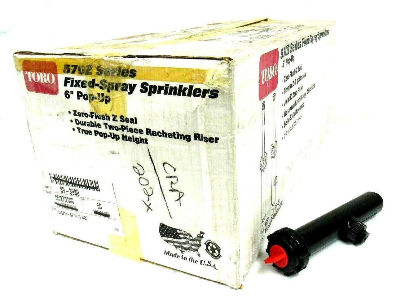 Neu 50er Box TGold 89-3980 Pop-Up Sprinkler 8   W O Düse 570zsi-6p 893980
