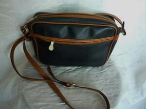 2417c5bfa474 Image is loading BOTTEGA-VENETA-BLACK-BROWN-MARCO-POLO-CROSSBODY-VINTAGE-