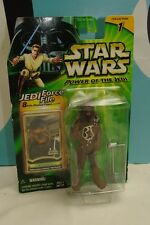 Star Wars POTJ Chewbacca Falcon Mechanic Figure Damaged Package