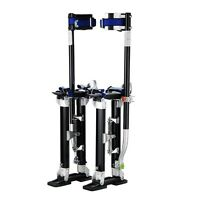 "Professional 18""-30"" Black Drywall Stilts Highest Quality by Pentagon Tool Tools and Accessories"
