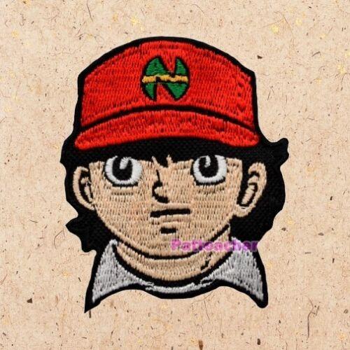 Captain Tsubasa Genzo Wakabayashi Patch Soccer Anime Nankatsu SC Embroidered