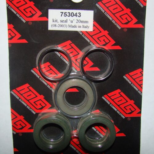87176230 and 753043 Hotsy Pump U Seal Kit 20mm  8.717-623.0  alt