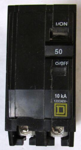 SQUARE D QO250 Type QO Circuit Breaker 2 Pole 50 Amp