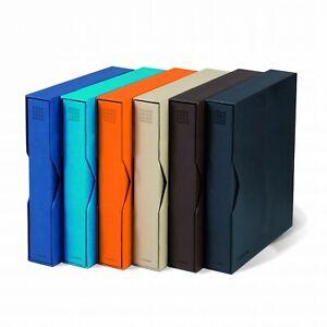 Leuchtturm-Ringbinder-GRANDE-Pur-A4-Format-inkl-Schutzkassette-6-v-Farben