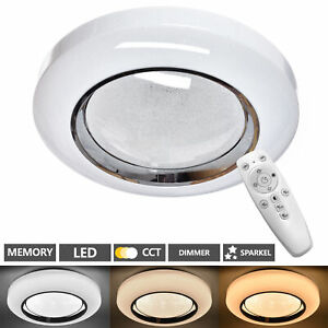 Lampada Da Soffitto LED Soggiorno Camera Letto Cielo Stellato Telecomando 48W