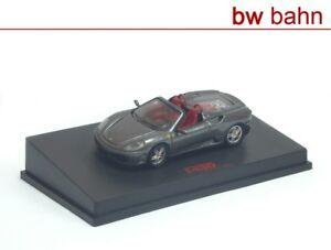 RedLine-1-87-87RL003-Ferrari-F430-Spider-grau-metallic-Neu