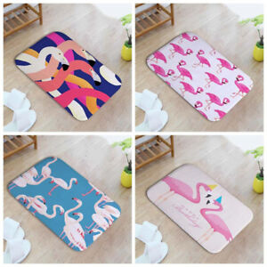 Am-AG-FT-Cute-Flamingo-Printed-Home-Bathroom-Anti-Slip-Floor-Mat-Bedroom-Carp