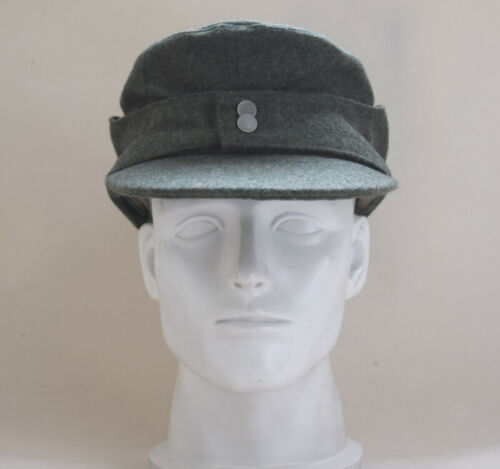 Collectable German WH EM M43 panzer Wool Field Cap Green