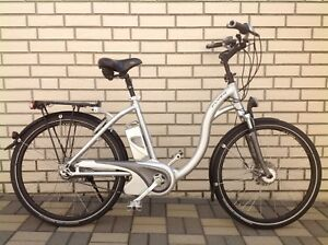 flyer e bike 26 8 g akku federung alu fahrrad mit schiebehilfe ebay. Black Bedroom Furniture Sets. Home Design Ideas
