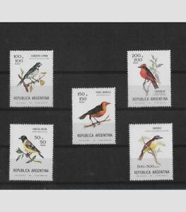B79 Mint Strengthening Sinews And Bones Helpful Argentina Year 1978 Birds Set Of 5 Values Michel 1347 51 Scott B75