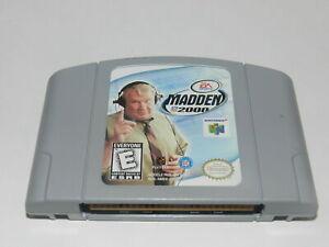 Madden 2000 Nintendo 64 N64 Video Game Cart