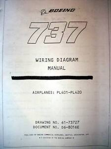 3 boeing 737 airframe wiring diagram manuals for serials pl 401 to image is loading 3 boeing 737 airframe wiring diagram manuals for