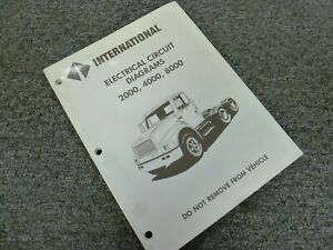 1994 International 4600 4700 4800 4900 Truck Electrical ...
