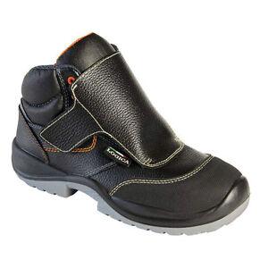 Logica Chaussures De Sécurité 600gr Haute Cuir Noir Hydrofuge Antidérapantes 5uLQ1Jf