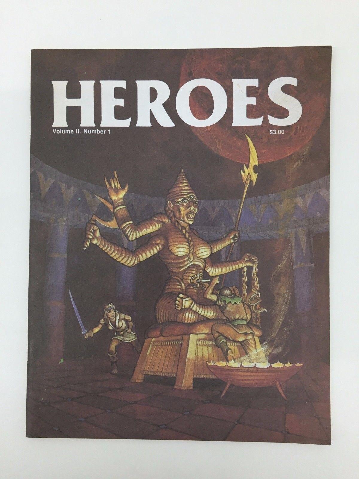 Runequest Heroes Vol 2 Número 1 Juego de Rol Rpg Dragones y Mazmorras D&d