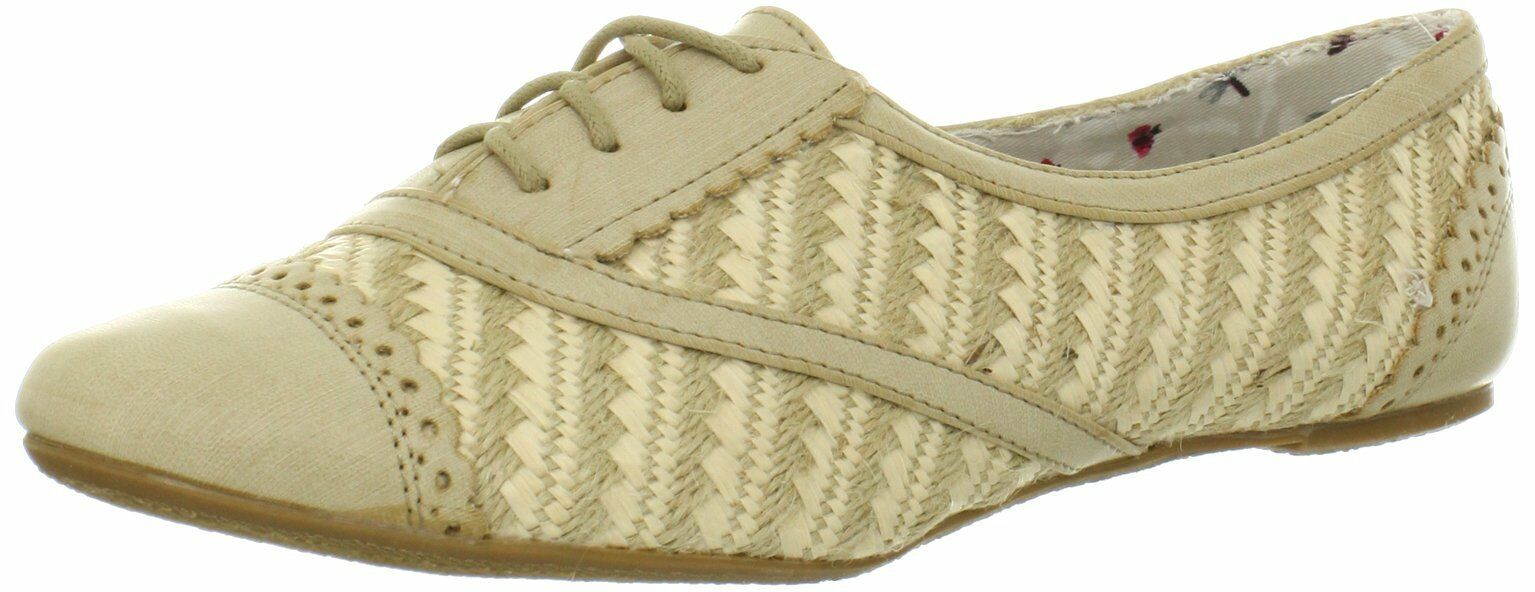 Not Rated Women's Beat Goes On Oxford Beige 6.5 B(M) US