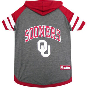 Oklahoma-Sooners-NCAA-Pets-First-Officially-Licensed-Dog-Pet-Hoodie-T-Shirt-XS-L
