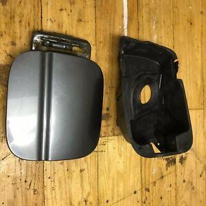 08-09-10-11-12-Honda-Accord-Fuel-Filler-Door-Gray-Metallic-with-plastic-insert