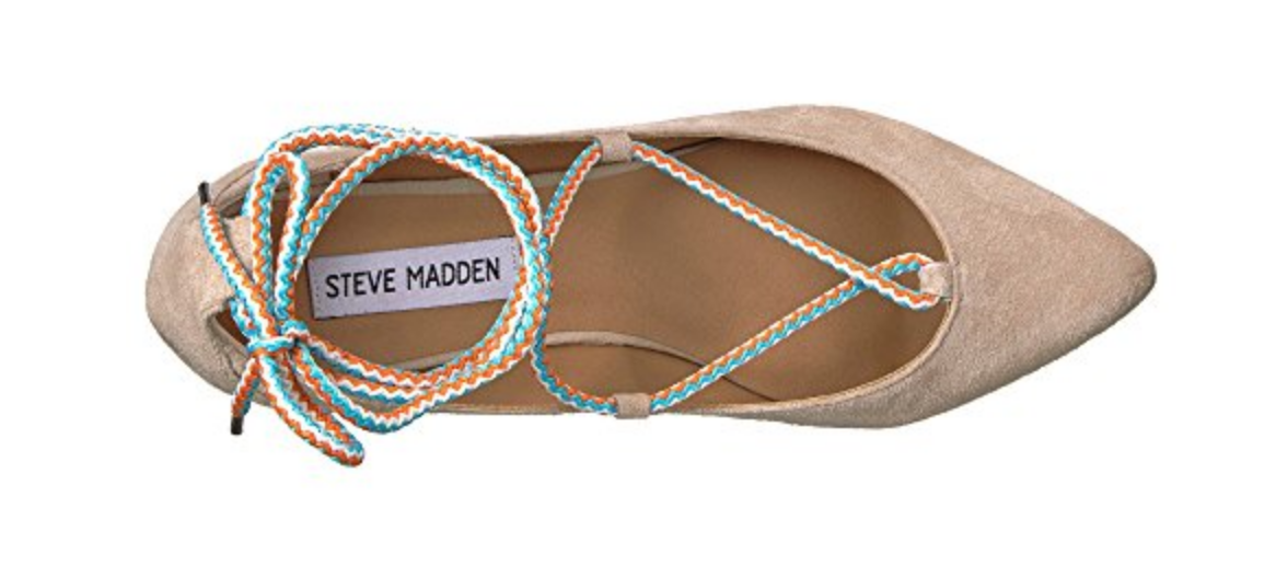 Plus size womens pointy toes flat heels Ballerinas slip slip slip on casual pumps shoes US 38de08