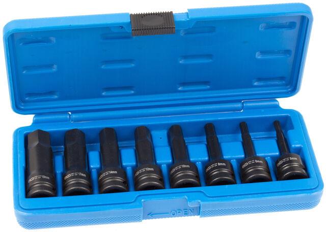 Innen Sechskant Steckschlüssel Satz 1/2 Schlagschrauber Nüsse für Inbus Schraube