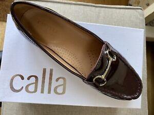 Carvela Patent Leather Burgundy Loafer