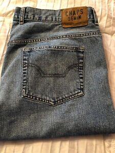 Jeans Denim Homme Fit Chaps Etat Straight 40x32 Excellent tzqBSU1Sw