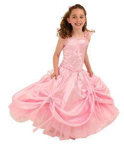 SECONDS-QUALITY-DESIGNER-PINK-BALL-GOWN-BY-FRILLY-LILY-ALL-SIZES-BARGAIN