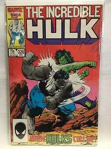 Incredible-Hulk-Vol-1-326-VF-1st-Print-Marvel-Comics