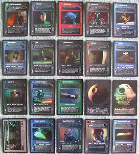 Verzamelingen Star Wars CCG Reflections 1 Rare Foil Cards Part 3/4 kaartspellen Dark Side