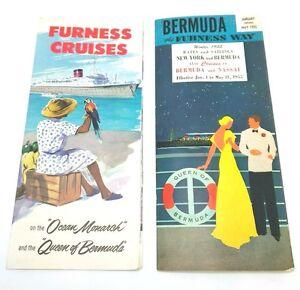 FURNESS Cruise Ship Ocean Liner S Brochures Ocean Monach - Queen of bermuda cruise ship