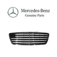 Mercedes W210 E320 Front Center Grille Assembly Black Genuine 210 880 06 83 9040