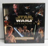 Star Wars Episode 1 Customizable Card Game New Unopened Box 1999 Toys