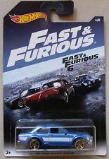 Hot Wheels 2017 Fast & Furious 6 '70 FORD ESCORT RS1600 6/8