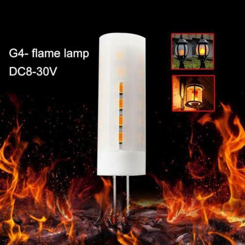 G4 Flickering Flame Fire Effect LED Bulb Burning Light Bulb Fire Effect Lamps