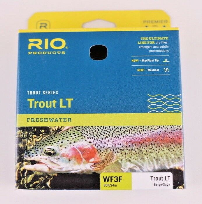 Rio Trout LT Fly  Line WF3F Beige Sage Free Fast Shipping 6-21528  wholesale
