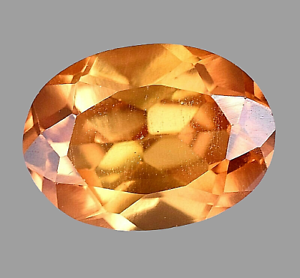 Extremely Rare Natural Yellow Brownish Sapphire 5.05 Ct Top Luster Certified Gem