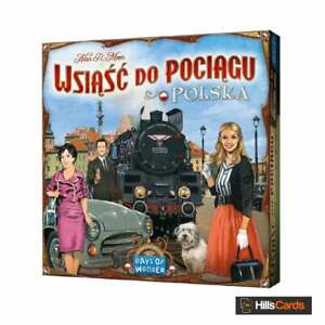 Ticket-To-Ride-Polska-Poland-Board-Game-Map-Expansion-Includes-English-Rules