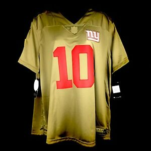 Nike New York Giants Eli Manning  10 Salute To Service Jersey Women ... 5bd9bbbba