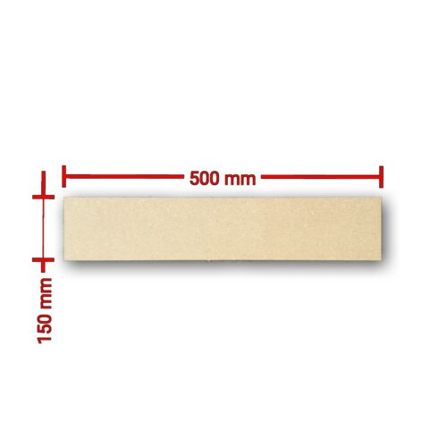 Wooden MDF Blank Plaques 150mm Width Various Sizes And Thickness Available
