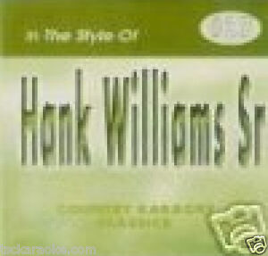 Hank-Williams-Sr-Karaoke-CD-CDG-JAMBALAYA-Your-Cheating-Heart-YOU-WIN-AGAIN-16Sg