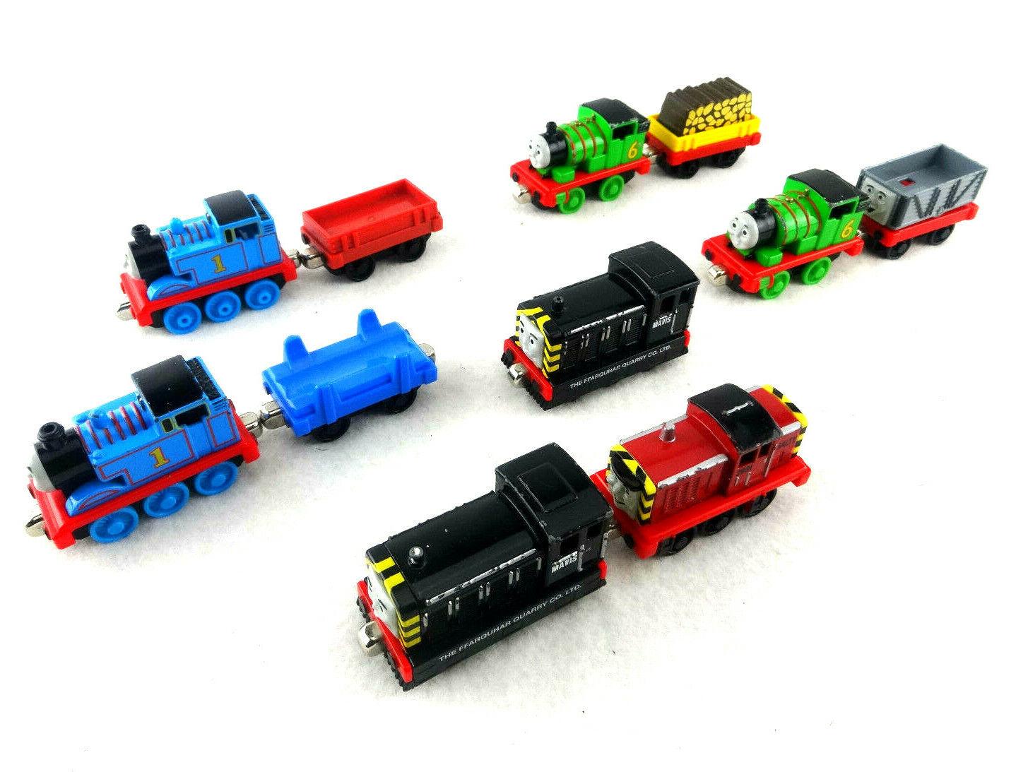 Thomas the Train, Percy, Mavis, Salty, Train bils Förfägda VGC fri Shipping