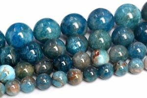 Genuine-Natural-Apatite-Loose-Beads-Grade-A-Round-Shape-6mm-8mm-9-10mm-12mm-Bead