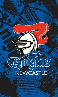 NEWCASTLE KNIGHTS Licensed NRL Cape Wall Flag Banner Man Cave Snooker Pool Room