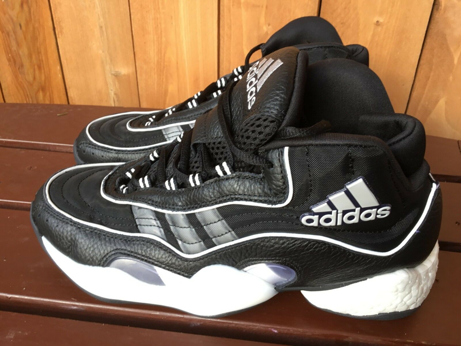 Adidas 98 x Crazy BYW men's black basketball shoes sneakers multiple size G26807