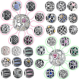 925-European-Sterling-Openwork-CZ-Silver-Charm-Bead-for-Charms-Bracelet-Chain