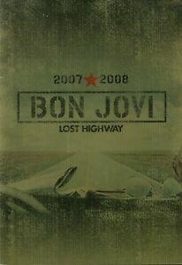 BON-JOVI-2007-2008-LOST-HIGHWAY-TOUR-CONCERT-PROGRAM-BOOK-NEAR-MINT-2-MINT
