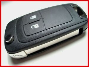 New Vauxhall 2 Button Remote Key Fob For Astra J K Insignia